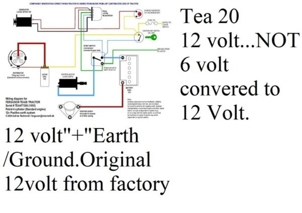 12 Volt Wiring Diagram To20 Ferguson Tractor Wiring Diagram Sonata Sonata Graniantichiumbri It