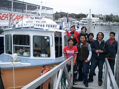Ferry Utk Dolphin's Watching, Port Stephen, Australia