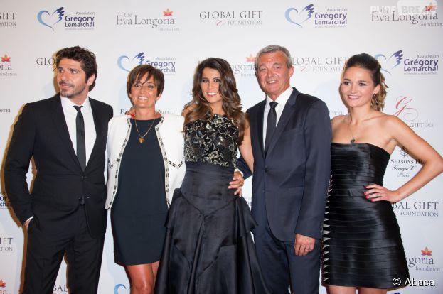 Global Gift Gala 2014 : Patrick Fiori et Karine Ferri en pr\u00e9sence de la famille de Gr\u00e9gory