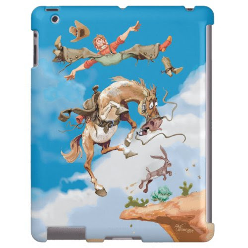 Jumping Jack | Funny Caricature iPad Case