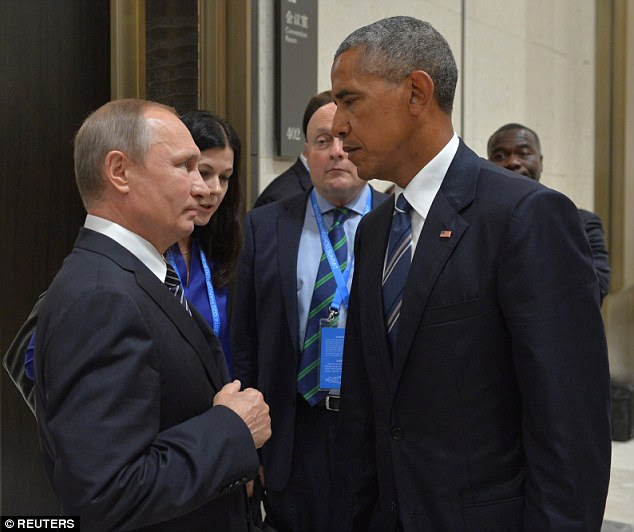 The latest reports of an cyber campaign by Kremlin came as President Obama and Putin continued their negotiations in a bid to strike a deal over Syria