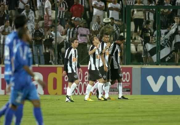 Lances da partida entre Atlético e Avaí, pela 21ª rodada do Campeonato Brasileiro   - Marcos Michelin/EM/D.A Press