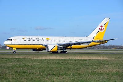 Royal Brunei Airlines Boeing 767-27G ER V8-MHB (msn 25537) AMS (Ton Jochems). Image: 911955.