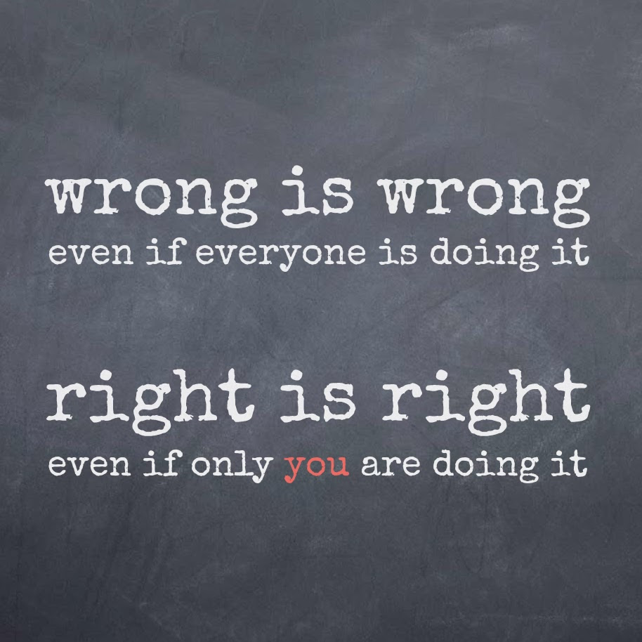 Quotes About Doing Right And Wrong 94 Quotes