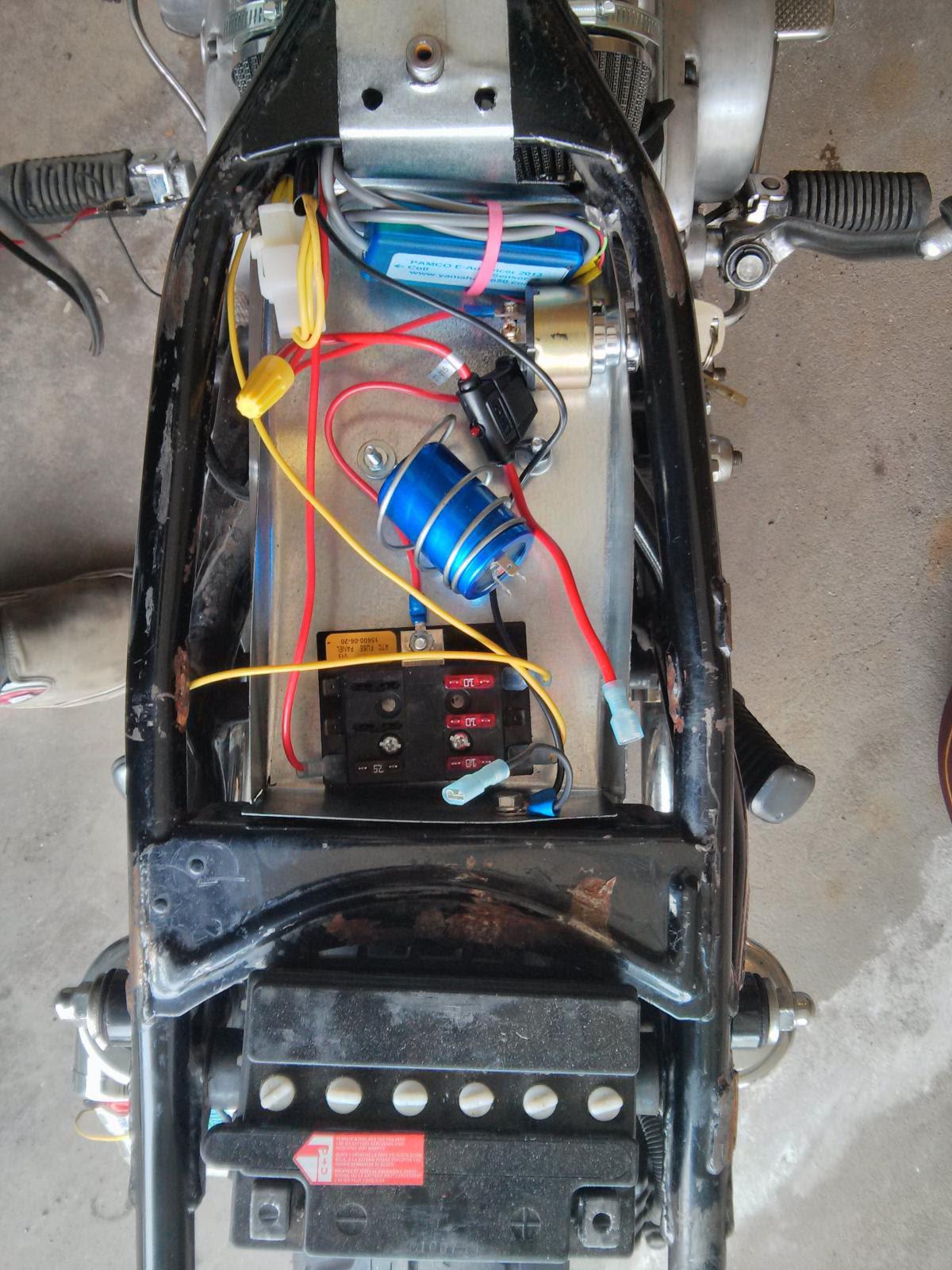 Xs650 Chopper Wiring Harnes