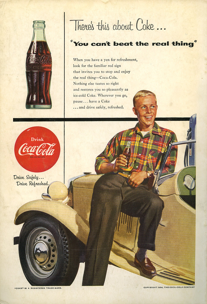 Coca Cola ad_June 1954_tatteredandlost