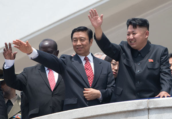 DPRK stages military parade