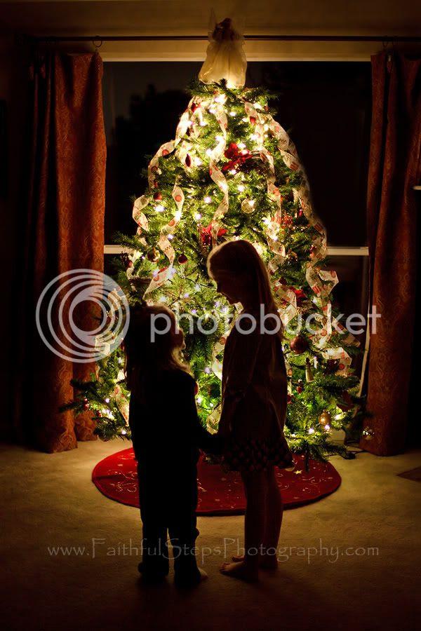 child lights christmas tree Photobucket