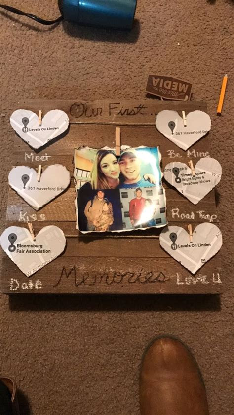DIY gift for him , Valentine's Day, anniversary, surprise