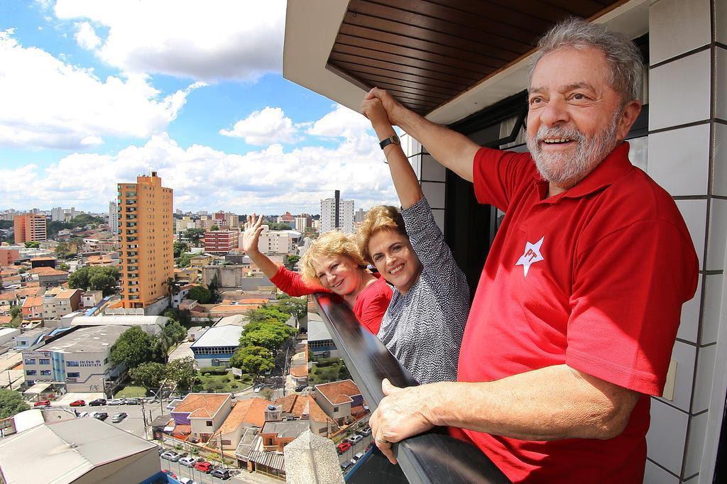 Dilma aceita oferecer ministério a Lula para evitar prisão dele na Lava-Jato, diz jornal Ricardo Stuckert/Instituto Lula/Divulgação