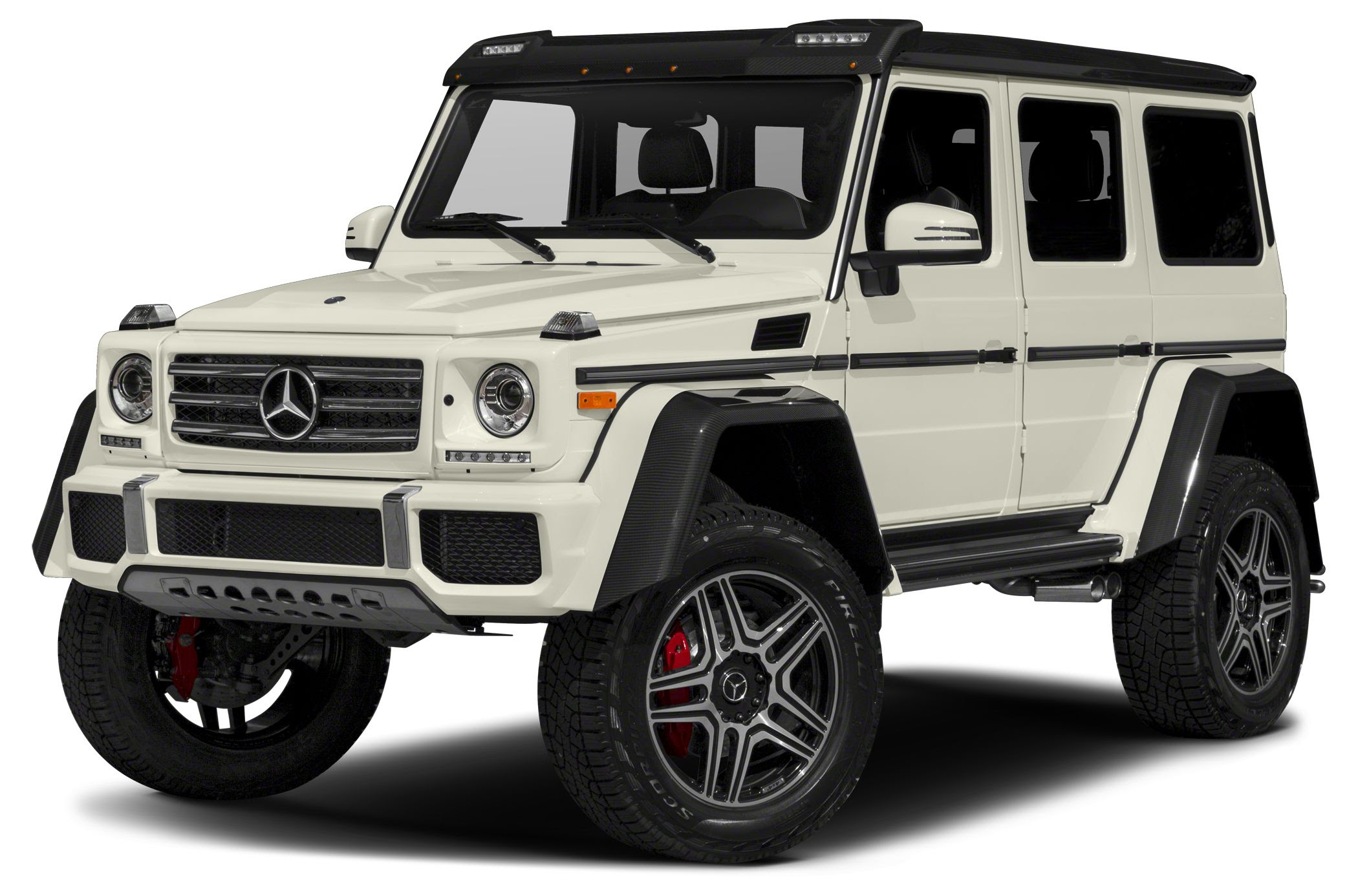 Mercedes-Benz G550 4x4 Squared News, Photos and Buying ...