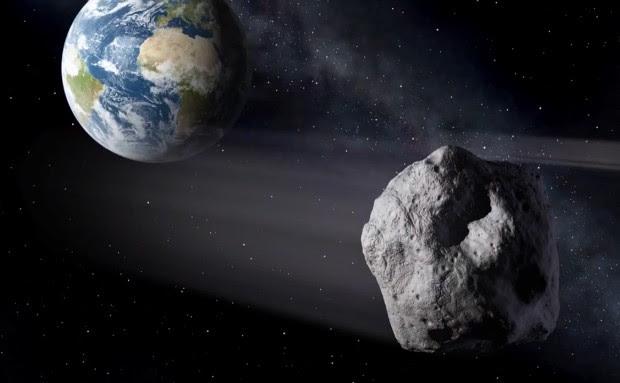 2012 DA14 - Asteroide de 50 metros vai passar muito perto da Terra em 15 de fevereiro (Foto: Reprodução/NASA)