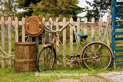 Antique Bicycle Display, Lafayette County, Wisconsin
