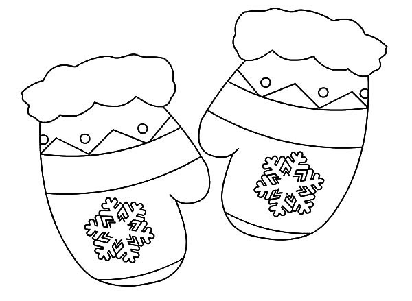 Mittens : My Mittens Coloring Pages, My Brother Mittens ...