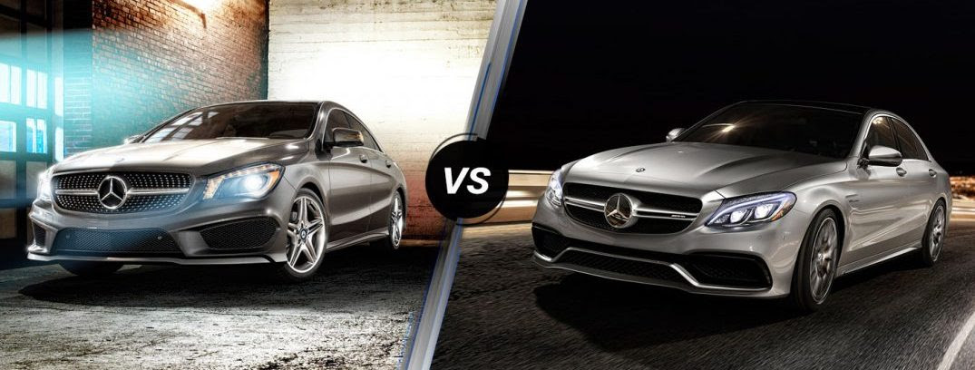 What's the difference between the C-Class and the CLA-Class?