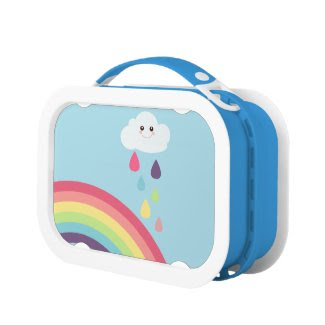 Kawaii Rainbow & Cloud {lunch box}