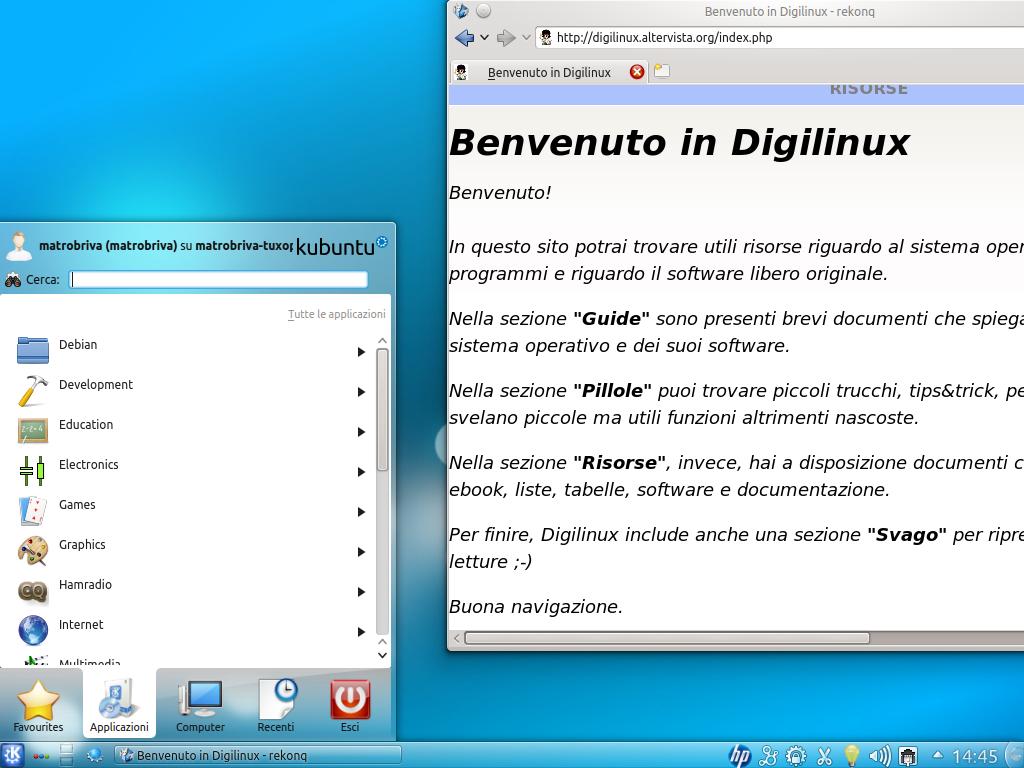 Mate desktop proxy