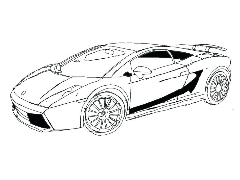 Completo   Lamborghini Veneno Para Colorir