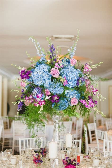 1000  ideas about Blue Centerpieces on Pinterest   Royal