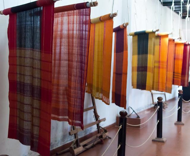 Sari on display