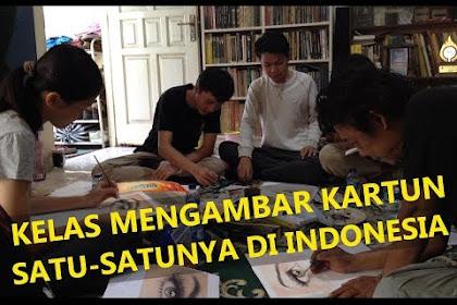 Ini Dia Kelas Menggambar Kartun Satu-satunya di Indonesia