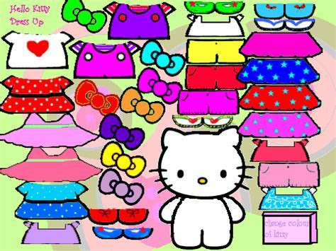 Emo Hello Kitty Dress up on Scratch