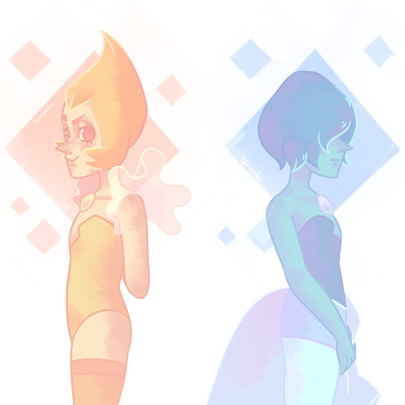 being a pearl is tough    Steven Universe © Rebecca Sugar Artwork  © me