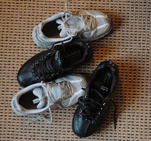 new & old :: nye & gamle sko