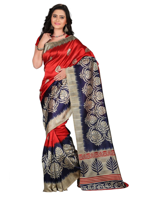e-VASTRAM Womens Mysore Printed Art Silk Saree
