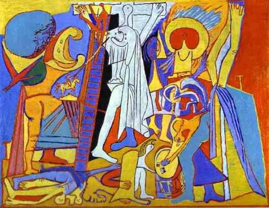 Pablo Picasso,         Σταύρωση, 1930