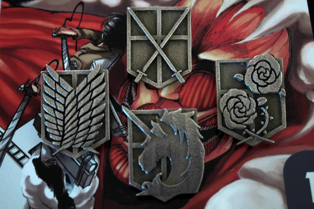 Attack On Titan Emblem Jewelry by robo3687 on DeviantArt