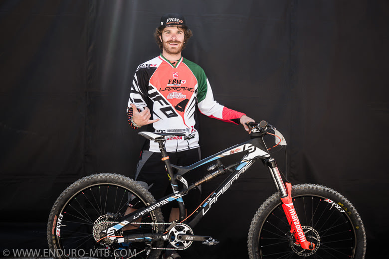 Alex Lupato Lapierre FRM Factory Racing Team Marzocchi Enduro Racing Italy champion