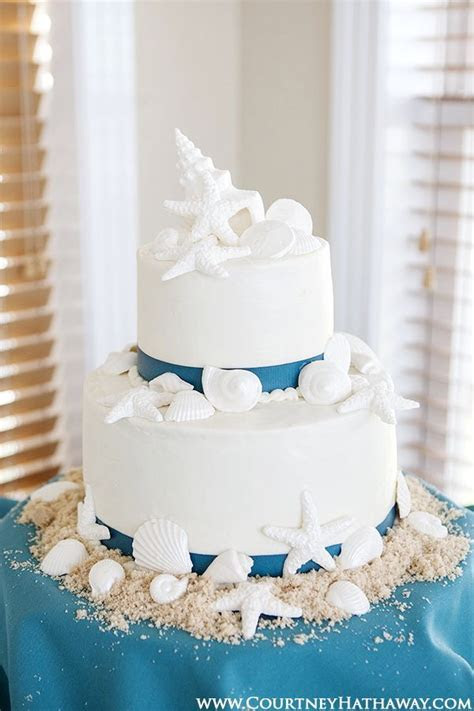 18 Cake Ideas For Beach Theme Wedding Party ? Cheap Unique