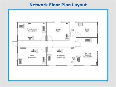 sample network floor plan layout medical office plans