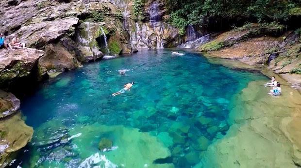 Encanto Azul é uma das belas surpresas da Chapada das Mesas (Foto: Globo Repórter)