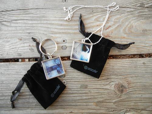 Zazzle Keychain & Necklace _ 7781