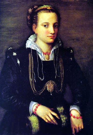 Sofonisba Anguissola, Portrait of Sister Minerva, 1559