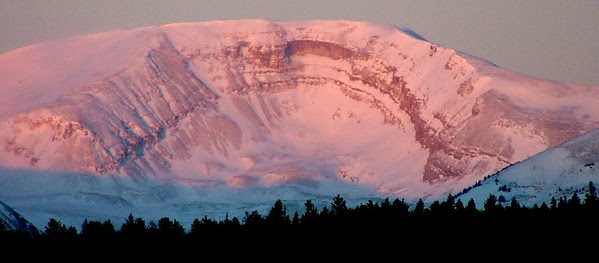 Horseshoe Mountain at Sunrise