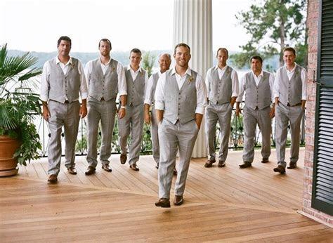 dapper summer style ideas  grooms  groomsmen