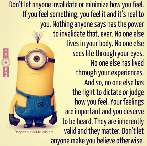 Joke For Saturday 04 July 2015 From Site Minion Quotes No One