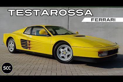 Yellow Ferrari Testarossa For Sale