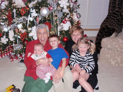 12.24.10 Papa, Mason, Libby, Mimi and TJ (2)