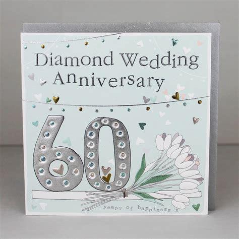 Greeting Card   60th Anniversary   Molly Mae