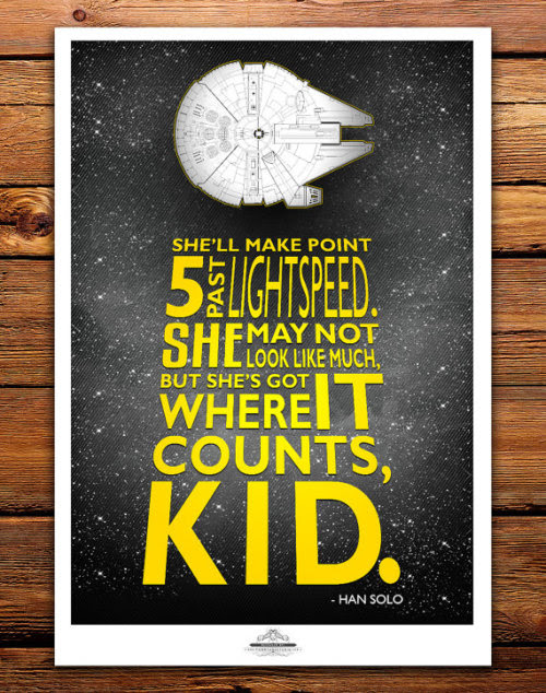 Star Wars Poster Designs by Tom Ryan