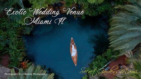 THE SECRET GARDEN MIAMI WEDDING VENUE PROMO DBATISTA
