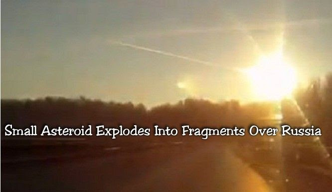 Russian Asteroid Explosion