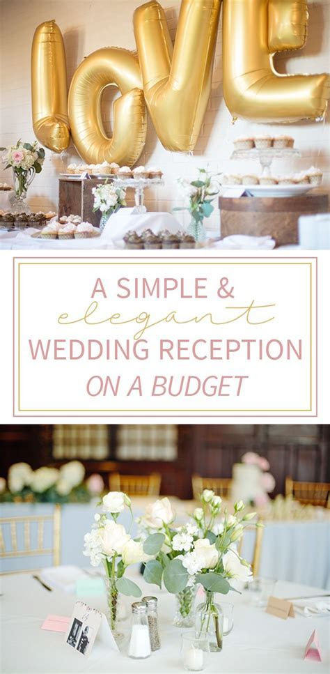 25  best ideas about Budget Wedding Receptions on