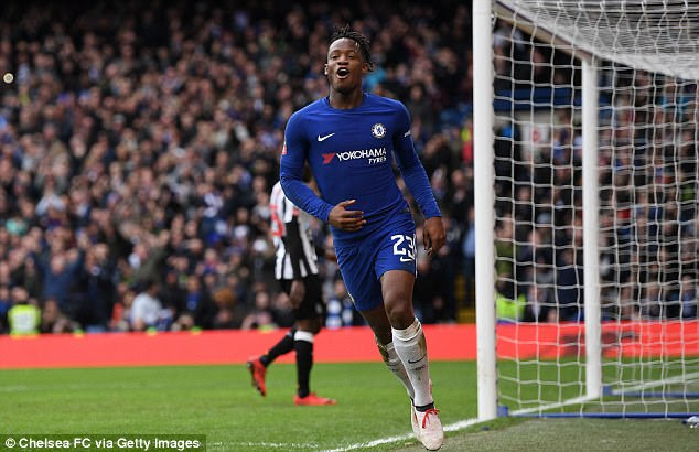 Michy Batshuayi admitted that his immediate future at Chelsea is not within his control