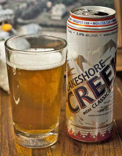 Review: Lakeshore Creek Classic Lager by Cody La Bière