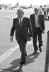 Kissinger Lewis Bohemian Club 1986